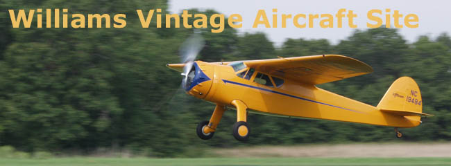 Williams Vintage Aircraft Site